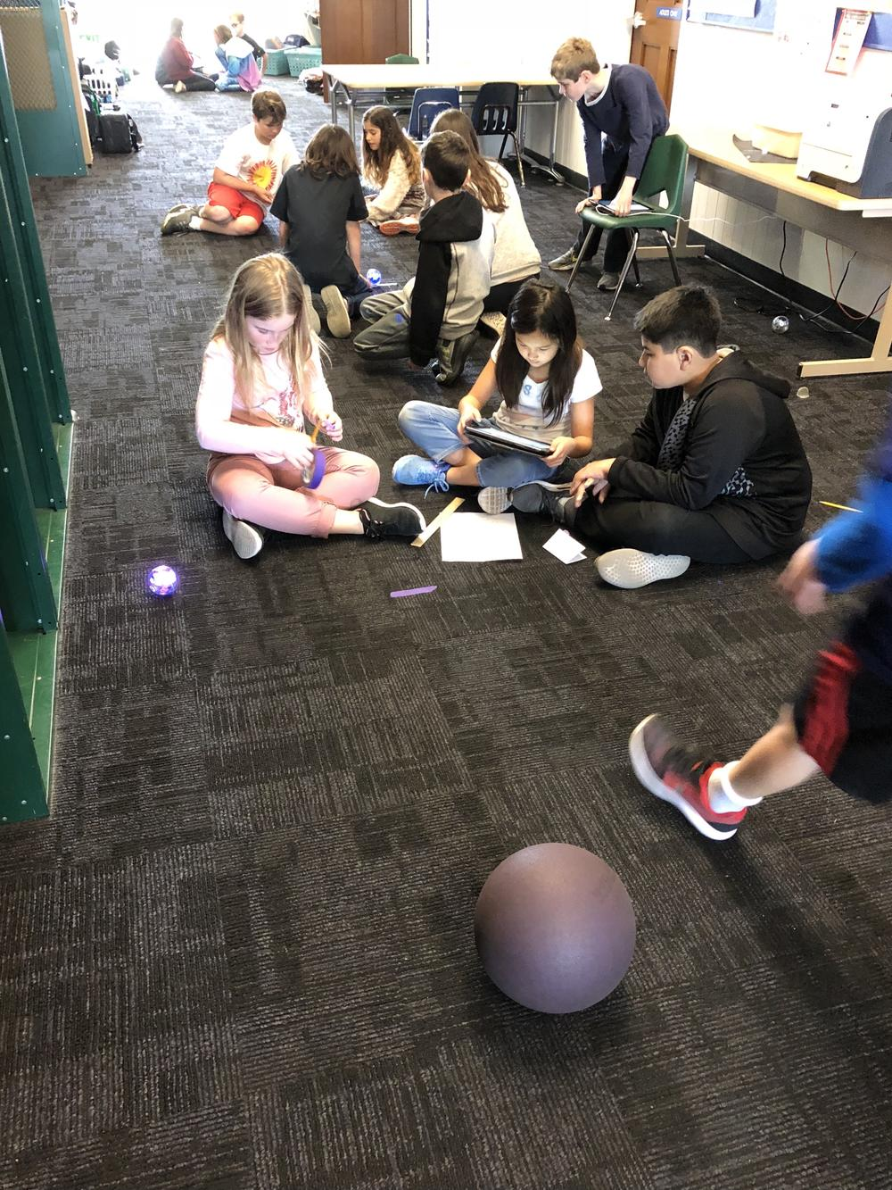 Active learning with Sphero Robots